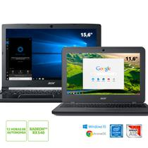 Kit: Notebook Acer A515-41G-1480 AMD A12 + Chromebook Acer N7 C731-C9DA Intel Celeron