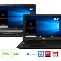 Kit: Notebook Acer A515-41G-1480 AMD A12 + Notebook Acer Aspire A315-53-32U4 Intel Core i3-7020U