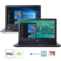 Kit: Notebook Acer E5-553G-T4TJ AMD A10 + Notebook Acer Aspire A315-53-32U4 Intel Core i3-7020U
