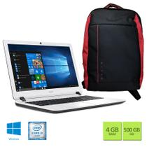 Kit: Notebook Acer ES1-572-347R Intel Core i3 4GB RAM 500GB HD 15.6