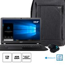 Kit:Notebook Acer ES1-572-3562 Intel Core i3 4GB RAM 1TB HD 15.6