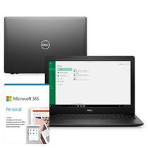 "Kit Notebook Dell Inspiron 3583-MS100PF 15.6"" 8ª G Intel Core i7 8GB 256GB SSD Placa Vídeo Windows 10 Microsoft 365 -"