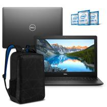 "Kit Notebook Dell Inspiron 3583-MS45PB 15.6"" 8ª Geração Intel Core i3 4GB 128GB SSD Windows 10 com Mochila Preto -"