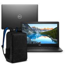 """Kit Notebook Dell Inspiron i3501-M20PB 15.6"""" HD 10ª G. Intel Core i3 4GB 128GB SSD Windows 10 Preto + Mochila Essential -"""