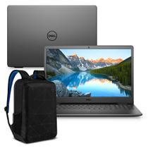 """Kit Notebook Dell Inspiron i3501-M25PB 15.6"""" HD 10ª G. Intel Core i3 4GB 256GB SSD Windows 10 Preto + Mochila Essential -"""