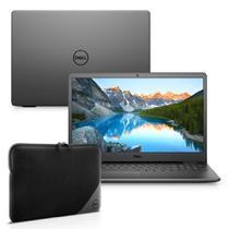 "Kit Notebook Dell Inspiron i3501-M25PC 15.6"" HD 10ª Ger. Intel Core i3 4GB 256GB SSD Windows 10 Preto + Capa Essential -"