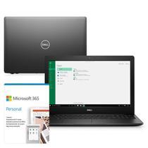 """Kit Notebook Dell Inspiron i3501-M25PF 15.6"""" HD 10ª Geração Intel Core i3 4GB 256GB SSD Windows 10 Microsoft 365 Preto -"""
