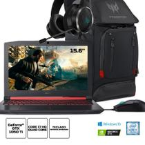 Kit:Notebook Gamer Acer AN515-51-78D6 Core i7 16GB 1TB HD 15.6