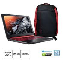 Kit:Notebook Gamer Acer Nitro 5 AN515-51-78D6 Core i7 16GB 1TB 15.6