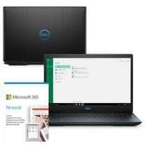 """Kit Notebook Gamer Dell G3 3500-M30PF 15.6"""" 10ª G. Intel Core i7 16GB 512GB SSD NVIDIA GTX 1660Ti Win 10 Microsoft 365 -"""