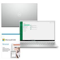 """Kit Notebook Ultrafino Dell Inspiron i5502 15.6"""" FHD 11ª G. Intel Ci5 8GB 256GB SSD NVIDIA GeForce Win 10 Microsoft 365 -"""