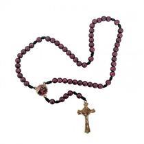 Kit novena e terço das mãos ensanguentadas de jesus - Armazem