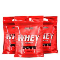 Kit Nutri Whey Protein 3x 907 g Refi - IntegralMédica -