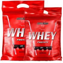 Kit Nutri Whey Protein - Baunilha 1800g Refil + Nutri Whey 907g Refil - Integralmédica - Integral Médica