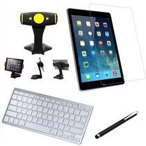 Kit Office iPad 2019 7a Geração 10.2 Suporte + Teclado + Película +Caneta - Skin Zabom