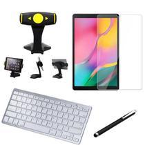 Kit Office Samsung Galaxy Tab A 10.1 T515/T510 Suporte + Teclado + Película +Caneta - Armyshield -