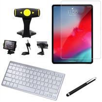 Kit Office Samsung Galaxy Tab A 10.5' T590/T595 Suporte Mesa + Teclado Bluetooth + Película + Caneta - Skin Zabom