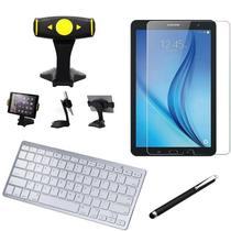 Kit Office Samsung Galaxy Tab E 9.6 T560/T561 Suporte + Teclado + Película + Caneta - Armyshield -