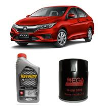 Kit Oleo 10w30 Semi Sintetico Havoline Honda City Civic - Wega e havoline