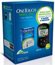 Kit One Touch Select Plus - 50 Tiras com Medidor - Johnson  johnson