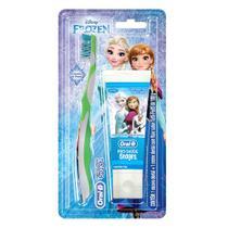 Kit Oral-B Stages Frozen Escova Dental + Creme Dental Tutti-Frutti 100g - Oral b
