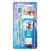 Kit Oral-B Stages Frozen Escova Dental + Creme Dental Tutti-Frutti 100g -