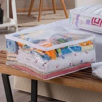 Kit Organizadores 5 Unidades Multiuso 48cm x 42cm Branco M - Ntb Embalagens