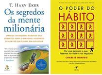 kit Os segredos da mente milionária /O poder do hábito - Outros