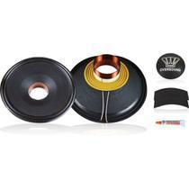 Kit P/ Reparo Sub Woofer 15 de 800wrms 8ohms  15/800 St / 15/800 Oversound -