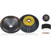 Kit P/ Reparo Woofer 8 Pol. de 100wrms 8ohms - 100w8 Oversound -