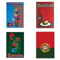 Kit Painel Cartazes para Decoração Festa Portuguesa Modelo 1 Paper Fest - Festabox
