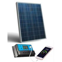 Kit Painel Solar Controlador Fotovoltaico 60w Watts - Sinosola