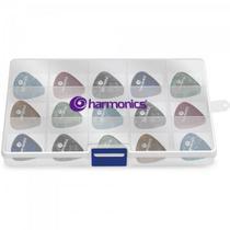 Kit Palhetas C/200 Sortidas Harmonics -