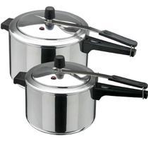 Kit Panela de pressão 2 peças de 4,5 e 7 litros INMETRO - ASJ