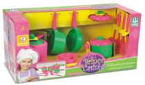 Kit Paneleiro Infantil Brinquedo Panelas Jogo Cozinha Nig - Nig Brinquedos -