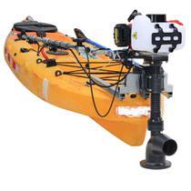 Kit Pantaneiro Jet Turbo Cut + Acelerador remoto + Suporte Barracuda -