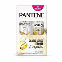 Kit Pantene Liso Extremo Shampoo 350ml + Condicionador Liso Extremo 175mL -