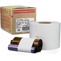Kit Papel Fotográfico e Ribbon Kodak 7000/6R p/ Fotos 10x15 -