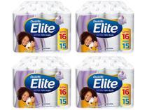 Kit Papel Higiênico Folha Dupla Elite Ultra - 4 Pacotes com 16 Unidades Cada