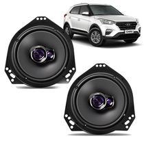 Kit Par Auto Falante Pioneer + Suportes Hyundai Creta -