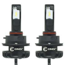 Kit Par Lâmpada Super Ultra Led Plus Automotiva Farol 12000 Lumens 6500K 12V 24V Carro Caminhão - Cinoy