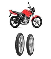 Kit Par Pneu 90/90-18 + 80/100-18 City Dragon Pirelli Cg 125 Cbx 150 - Pirelli moto