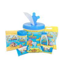 Kit para bebê turma do soninho - azul -
