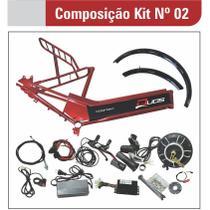 Kit para Bicicleta Elétrica de 800W com Quadro - Kit 2 - Duos