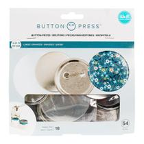 Kit para Botons WeR Memory Keepers Button Press Pack Large 58 mm 54 Peças  661098 - WE R MEMORY