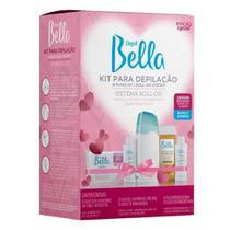 Kit Para Depilação Roll-on  Depil Bella -