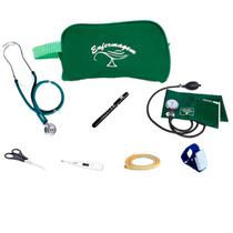 Kit para Enfermagem mod. 8 com Aparelho de Pressão e Estetoscópio Duplo Rappaport - Premium / P.A.Med