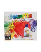 Kit Para Fazer 2 Butter Slimes - i9 Brinquedos 0225 -