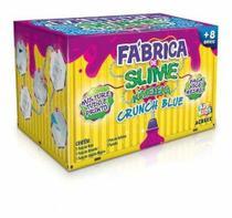 Kit Para Fazer Slime Da Acrilex Kimeleca Crunch Blue -