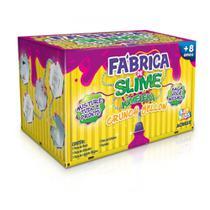 Kit Para Fazer Slime Da Acrilex Kimeleca Crunch Yellow -